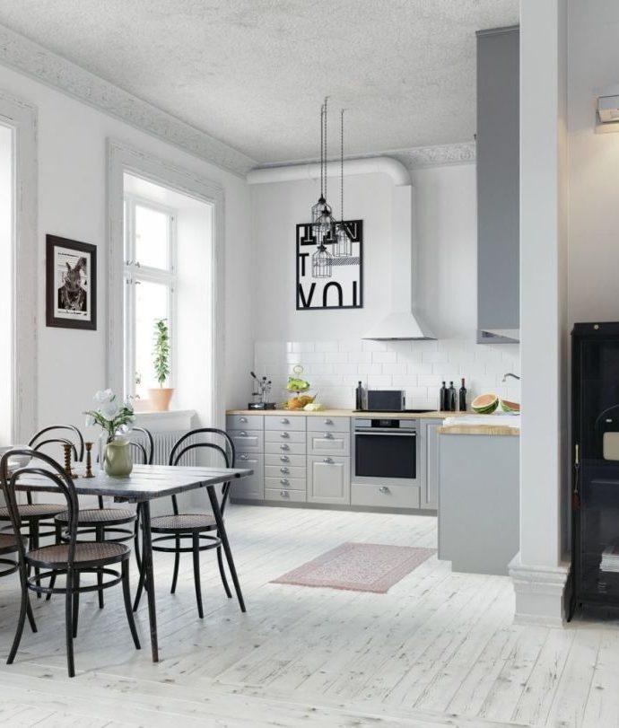 Пол для кухни – чем его отделать? Ламинат, плитка или дерево?