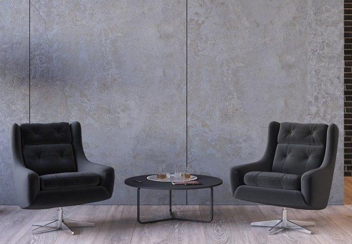 Использование архитектурного бетона в интерьерах
