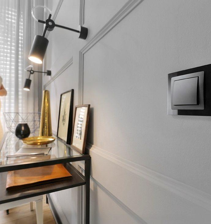 Могут ли розетки и выключатели быть украшением интерьера?