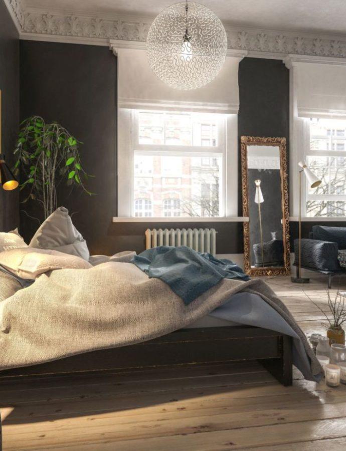 Гостиная со спальней. Как устроить?