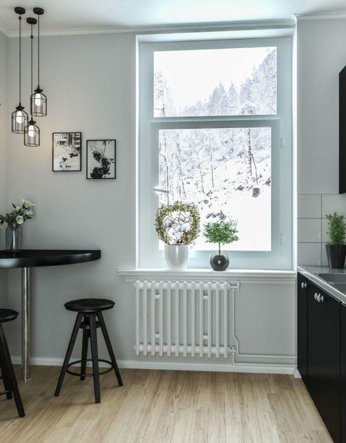 Черная кухня. Выбираем мебель, столешницу, плитку и аксессуары