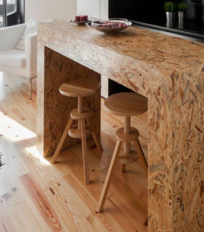 Мебель из OSB – дешево, модно и надежно!