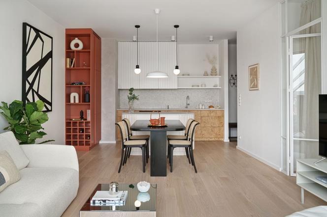 Стильный интерьер квартиры. Яркое, просторное и светлое оформление